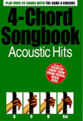 4 Chord Songbook Acoustic Hits