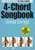 4 Chord Songbook Great Songs
