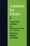 Anthems for Choirs 3