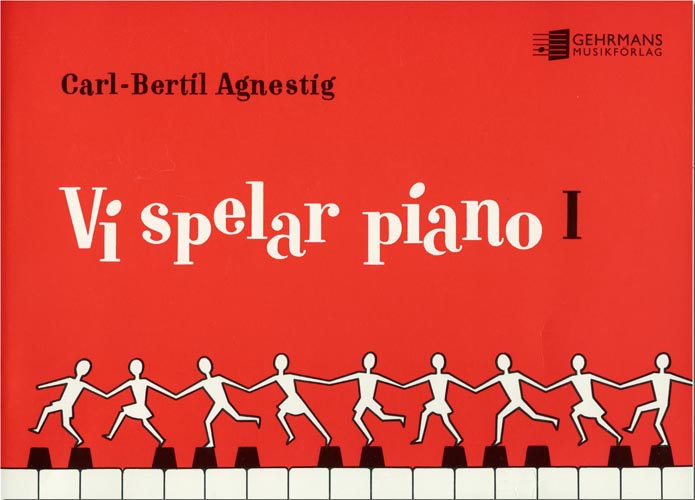 Vi spelar piano 1 av Carl Bertil Agnestig